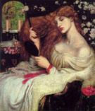 Lady Lilith c1868 - Dante Gabriel Rossetti