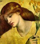 Sancta Lilias 1874 - Dante Gabriel Rossetti