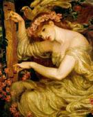 A Sea Spell 1877 - Dante Gabriel Rossetti