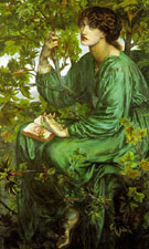 The Day Dream 1880 - Dante Gabriel Rossetti
