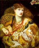Monna Vanna 1866 - Dante Gabriel Rossetti