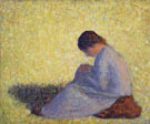 Seated Woman - Georges Seurat