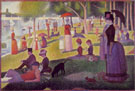 A Sunday on La Grande Jatte 1884 - Georges Seurat