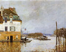Flood at Port Marly 1876 - Alfred Sisley