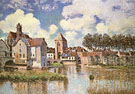 Moret Sur Loing 1891 - Alfred Sisley