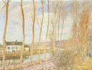 The Canal du Loing at Moret 1892 - Alfred Sisley