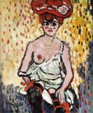 Dancer from the Rat Mort c1905 - Maurice de Vlaminck