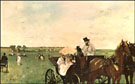 At the Races in the Country 1872 - Edgar Degas