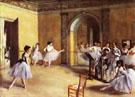 The Dance Lesson 1872 - Edgar Degas