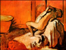 After the Bath 1896 - Edgar Degas
