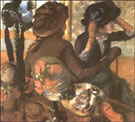 At the Milliners c1882 - Edgar Degas