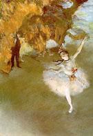 The Star - Edgar Degas