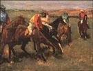 Before the Race 1882 - Edgar Degas