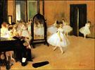 The Dancing Class - Edgar Degas