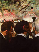 Orchestra Musicians At the Ballet 1870 - Edgar Degas