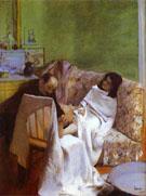 The Pedicurist 1873 - Edgar Degas