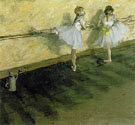 At the Bar c1876 - Edgar Degas