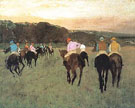 Racehorses at Longchamp 1873 - Edgar Degas