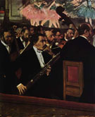 The Orchestra of the Opera 1870 - Edgar Degas