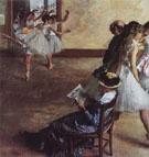 The Dance Class 1880 - Edgar Degas