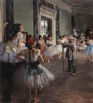 The Dance Lesson 1873 - Edgar Degas