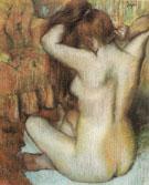 Woman Combing Her Hair c1886 - Edgar Degas