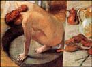 The Tub 1886 - Edgar Degas