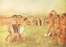 Young Spartans 1860 - Edgar Degas