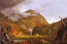Thomas Cole A View of the Mountain Pass Crawford Notch 1839 - Hudson River School