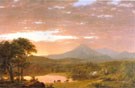 Frederic Edwin Church Mount Ktaadn 1853 - Hudson River School