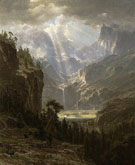Albert Bierstadt Rocky Mountains Landers Peak 1863 - Hudson River School