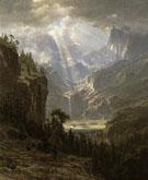 Albert Bierstadt Rocky Mountains Landers Peak 1863 - Hudson River School