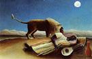 The Sleeping Gipsy 1897 - Henri Rousseau