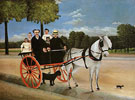 The Cart of Pere Juiet 1908 - Henri Rousseau