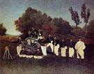 Artillery Men - Henri Rousseau