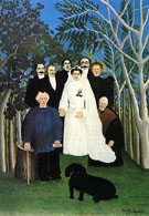 A Country Wedding 1904 - Henri Rousseau