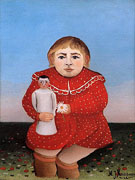 Portrait of a Child 1905 - Henri Rousseau
