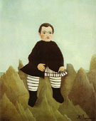 Boy on the Rocks 1895 - Henri Rousseau
