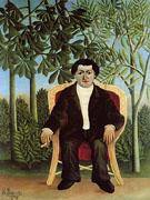 Portrait of Joseph Brummer 1906 - Henri Rousseau
