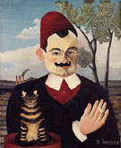 Portrait of Pierre Loti 1891 - Henri Rousseau