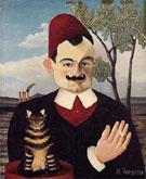 Portrait of Pierre Loti 1891 - Henri Rousseau