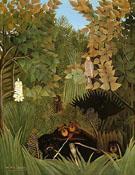 Merry Jesters 1906 - Henri Rousseau