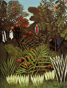 Exotic Landscape 1908 - Henri Rousseau