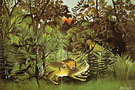 The Hungry Lion 1905 - Henri Rousseau