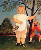 An Exemplum to Fete Baby 1903 - Henri Rousseau