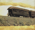 Railroad Train 1908 - Edward Hopper