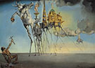 The Temptation of St Anthony 1946 - Salvador Dali