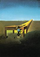 Myself at the Age of Ten When I Was the Grasshopper Child 1933 - Salvador Dali