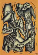 Tree Trunks 1931 - Fernand Leger