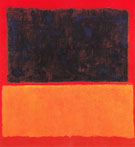Blue Over Orange 1956 - Mark Rothko